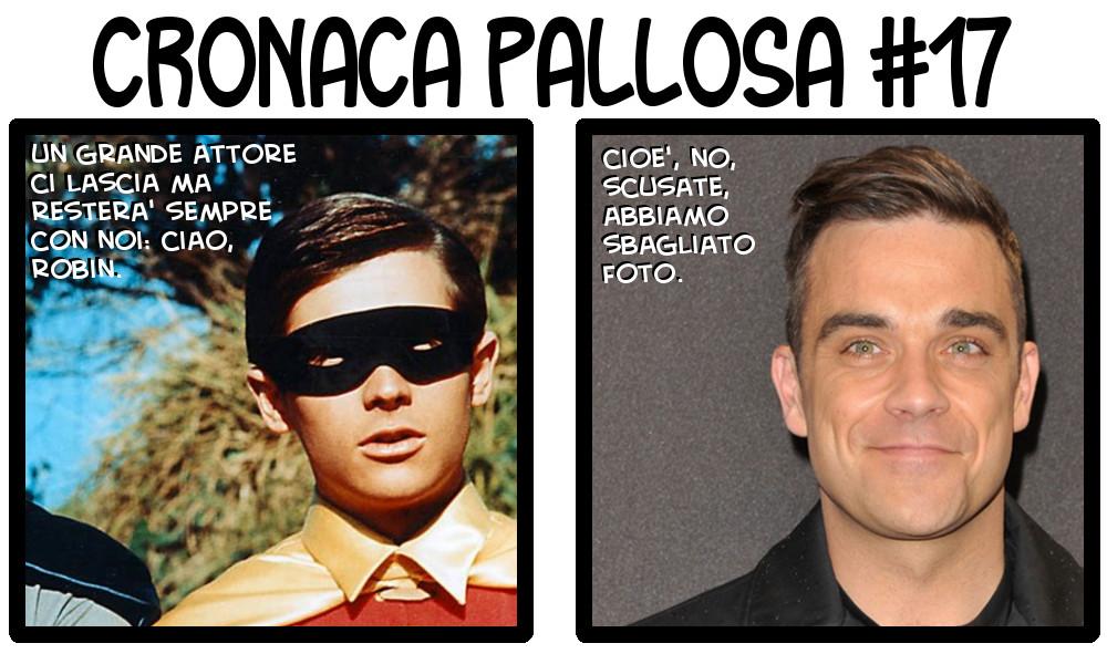 Per chi non li avesse riconosciuti: Robin di Batman e Robbie Williams