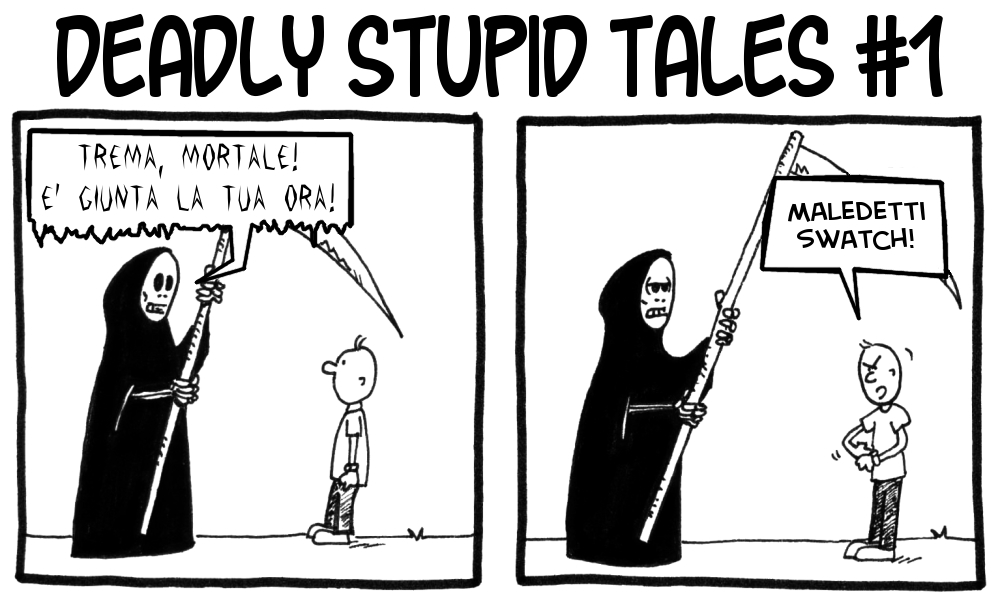 Deadly Stupid Tales 1