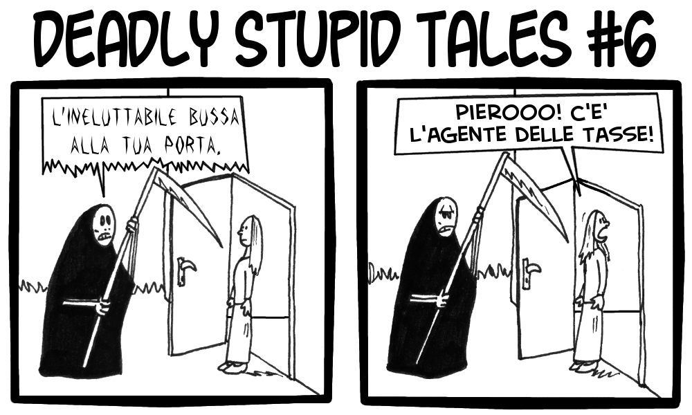 Deadly Stupid Tales 6