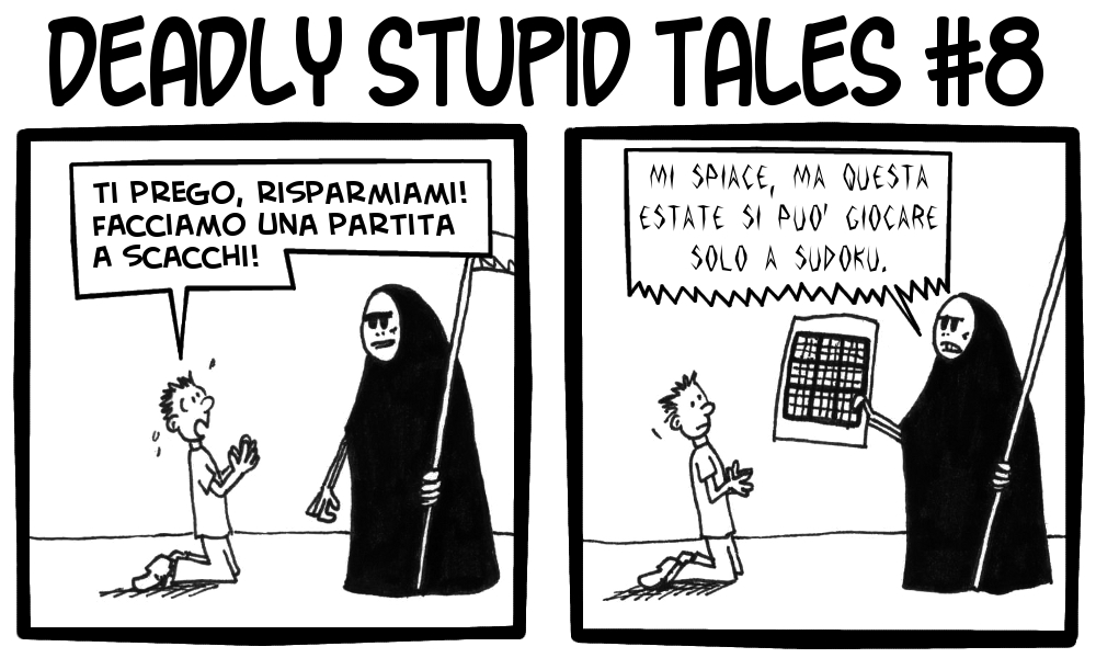 Deadly Stupid Tales 8