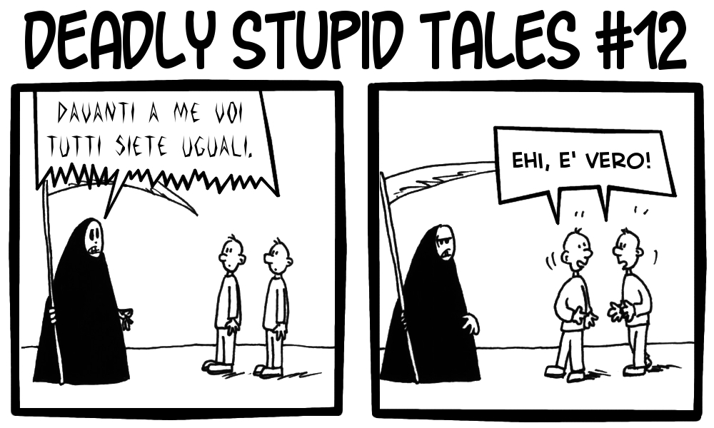 Deadly Stupid Tales 12