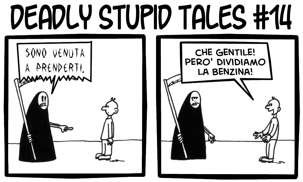 Deadly Stupid Tales 14