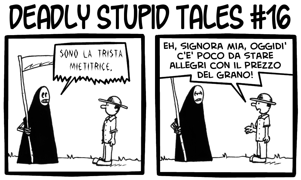 Deadly Stupid Tales 16