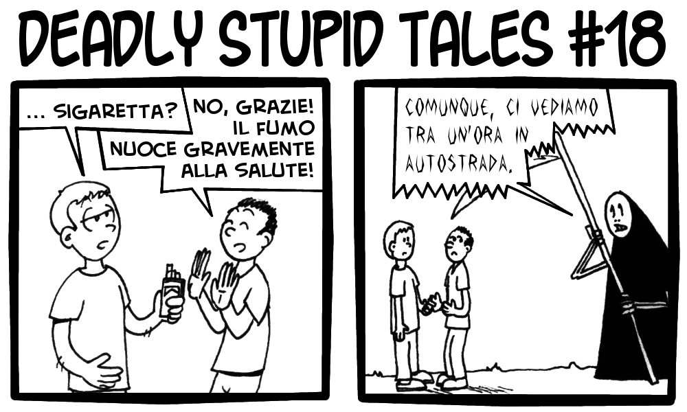 Deadly Stupid Tales 18