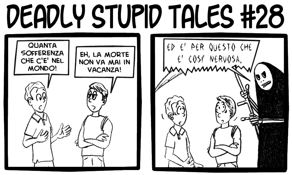 Deadly Stupid Tales 28