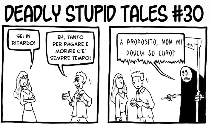Deadly Stupid Tales #30