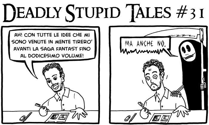 Deadly Stupid Tales #31