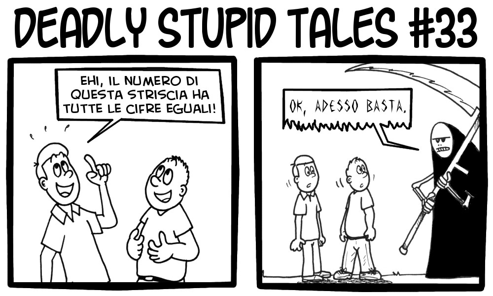 Deadly Stupid Tales 33