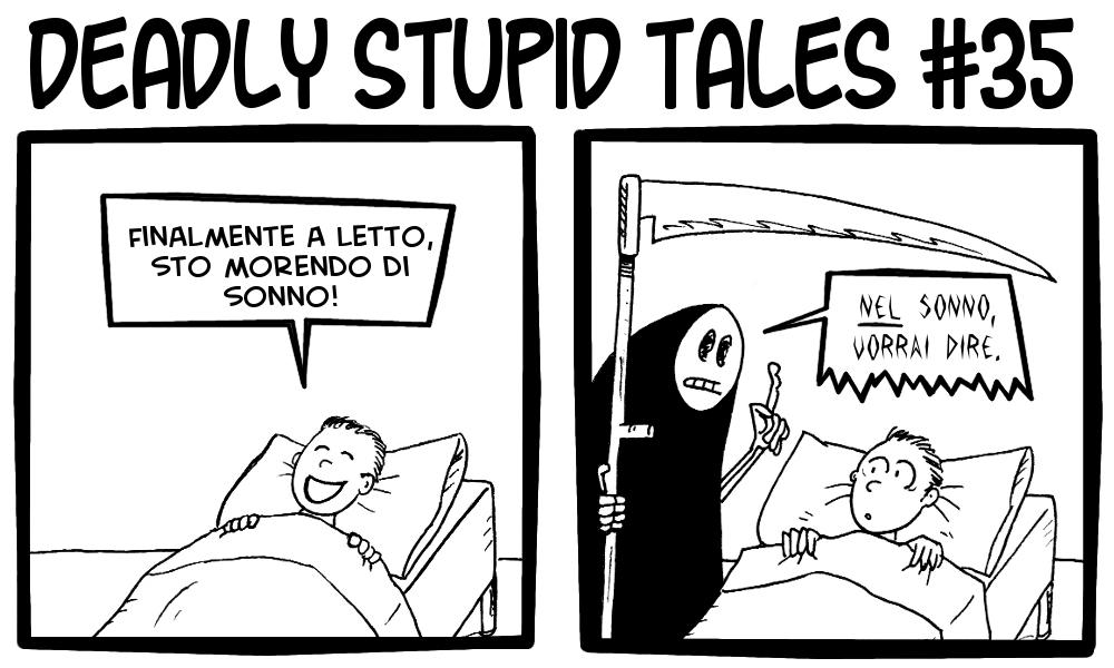 Deadly Stupid Tales 35