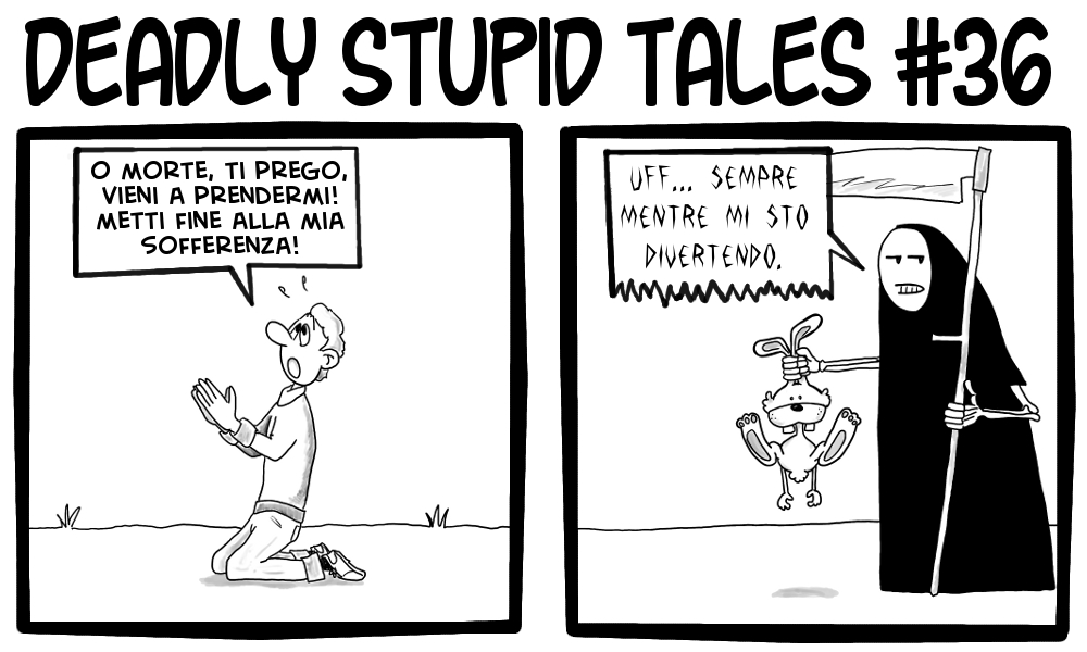 Deadly Stupid Tales 36