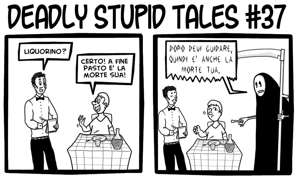 Deadly Stupid Tales 37