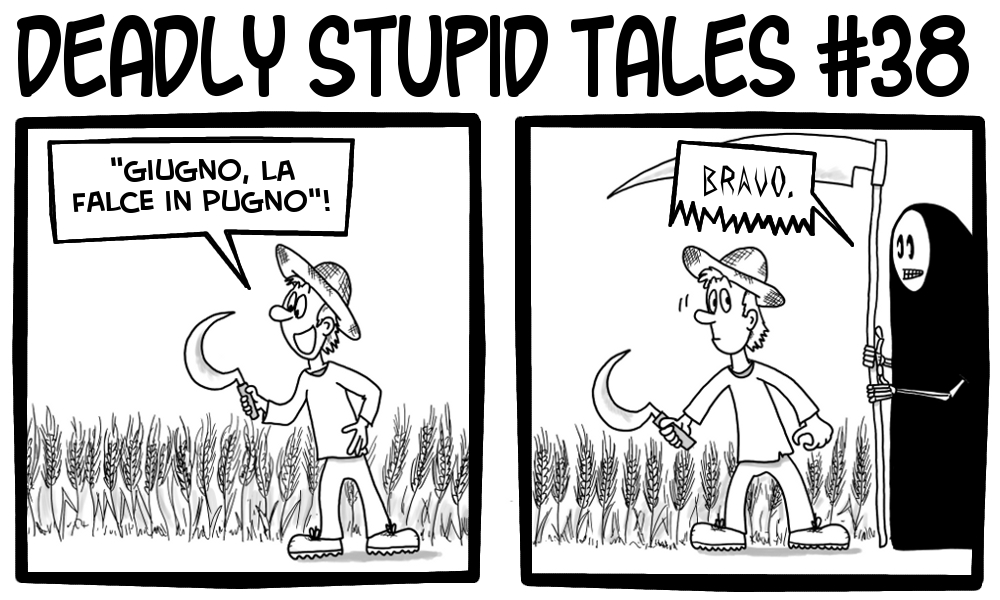 Deadly Stupid Tales 38