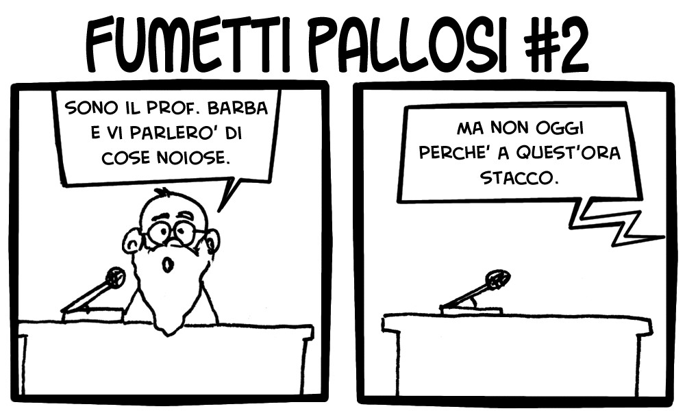 Fumetti Pallosi 2