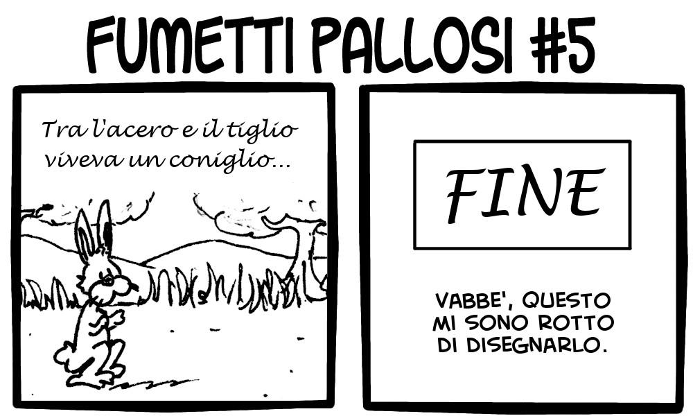 Fumetti Pallosi 5