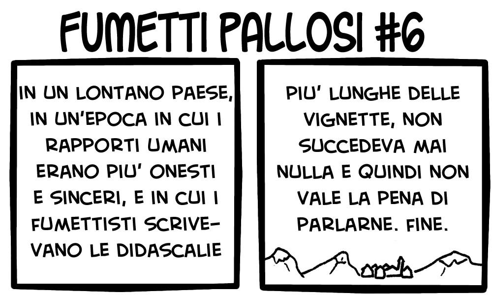 Fumetti Pallosi 6
