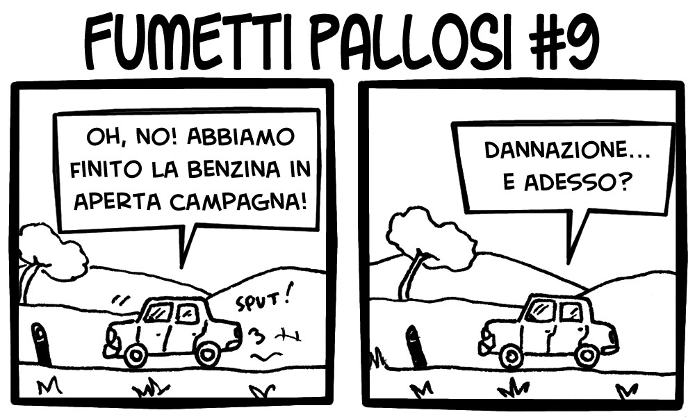 Fumetti Pallosi 9