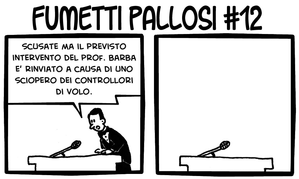 Fumetti Pallosi 12