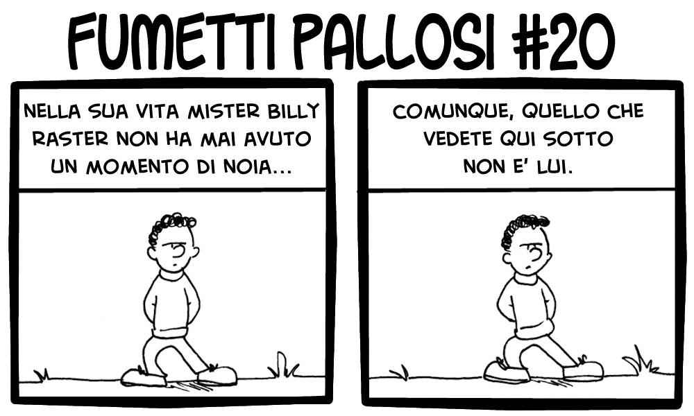 Fumetti Pallosi 20