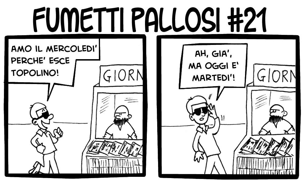Fumetti Pallosi 21