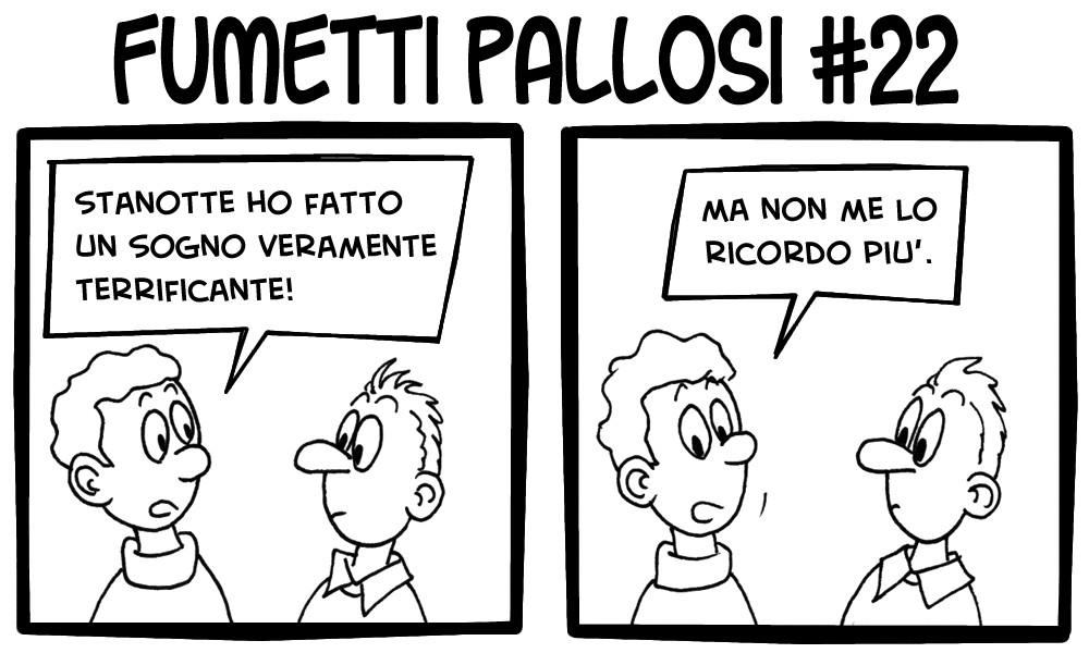 Fumetti Pallosi 22