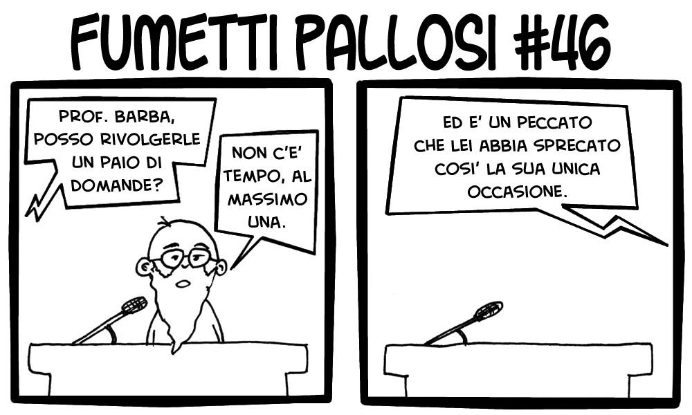 Fumetti Pallosi 46