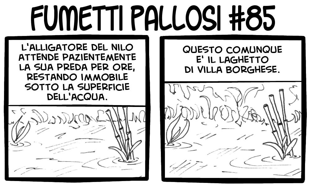 Fumetti Pallosi 85