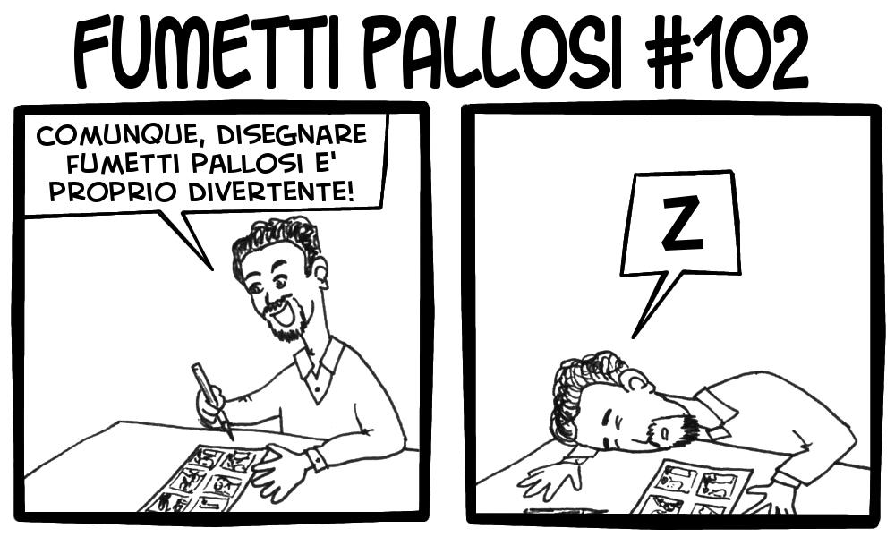 Fumetti Pallosi 102