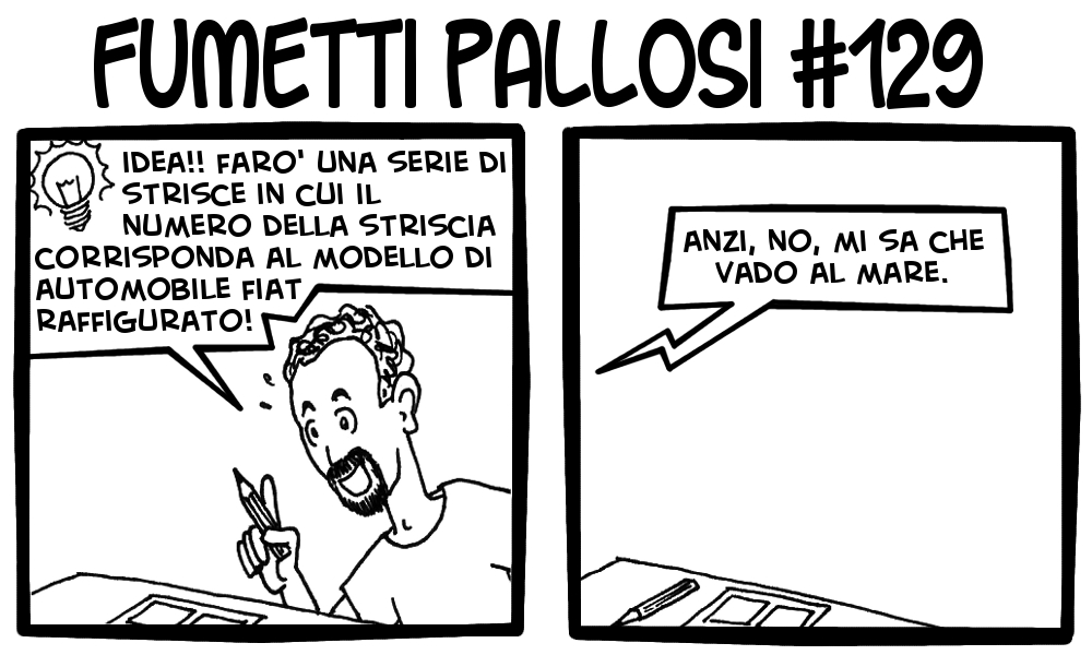 Fumetti Pallosi 129