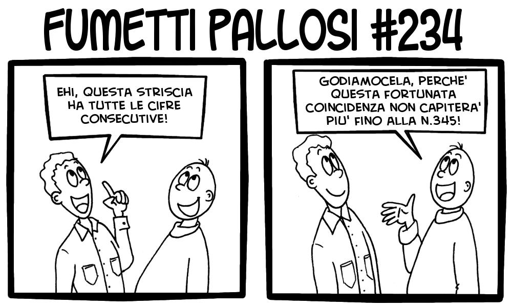 Fumetti Pallosi 234