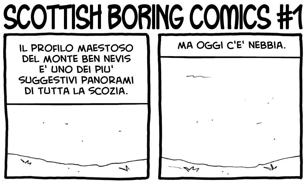 Scottish Boring Comics 1