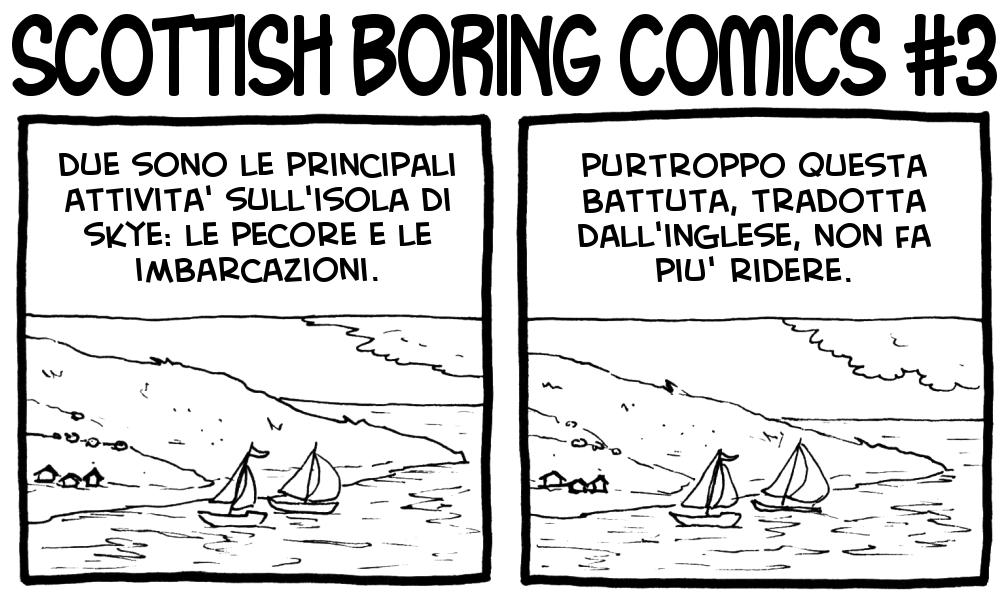 Scottish Boring Comics 3